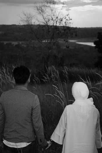 Couples In Love Togetherness Two People Outdoors Field Couple Photography Couple Portrait Blackandwhite Hopes And Dreams Hope Hopes
