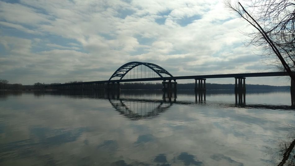 Check This Out Taking Photos Beautiful Color Rural Living Mississippiriver No People Cloud - Sky Reflections Scenics