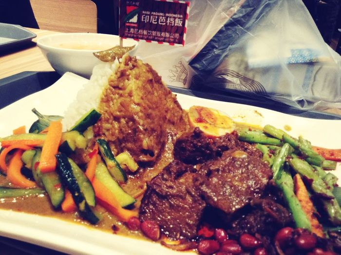 Oh finally.. Nasi Padang Indonesian Food Foodporn Shanghai