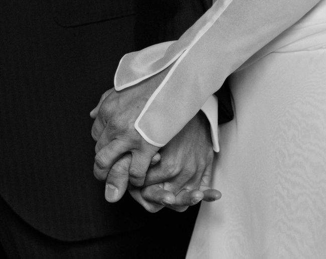 Blackandwhite Close-up Detail Hands Love Love Monochrome Popular Photos Real People Wedding Women Wedding Around The World