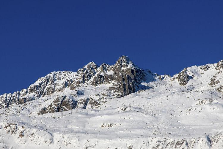 The mountains around andermatt