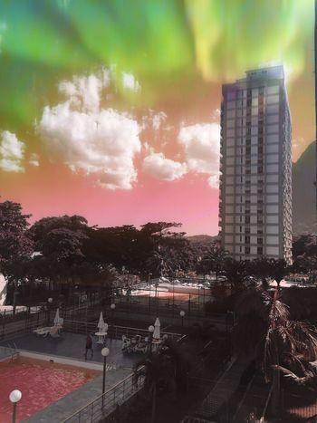 Colors Hipstamatic Building Exterior Skyscraper City Urban Skyline