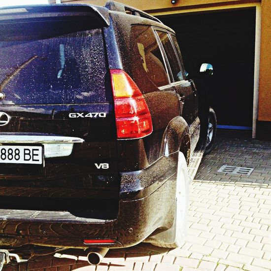 Car Lexus Gx470 Dirty