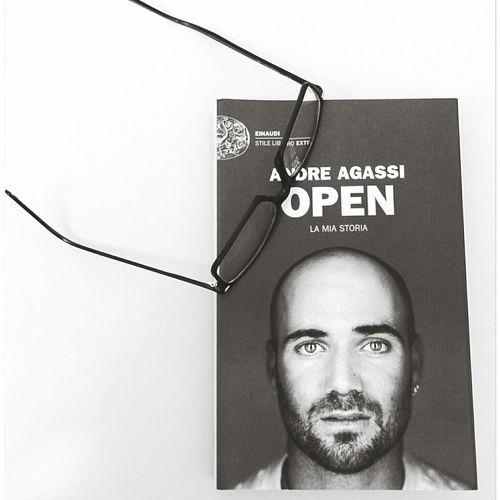 Book Tennis Myidol Andreagassi Lovetennis Idol Lettura Reading Relax