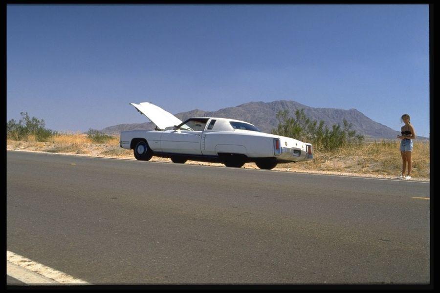 Desert Highway 1 Baja California Cadillac Eldorado Roadtrip Tarantino Vintage Cars
