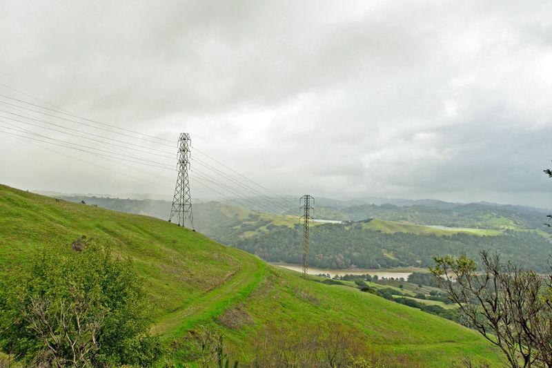Nimitz Trail @ Tilden Regional Park 5 Hike In The Rain Berkeley, CA Scenic