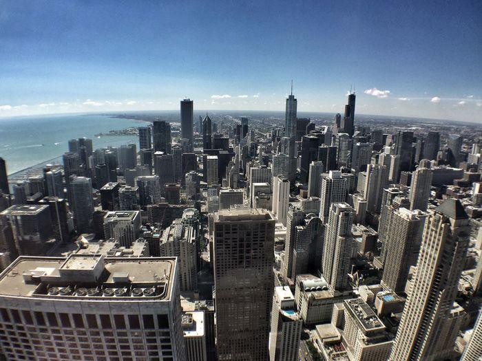 City Chicago Architecture Buildings Skyscraper Skyline Go Higher