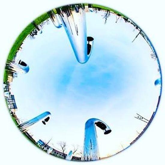 Park odkrywców z nieco innej perspektywy 😉 Explorer's park in a slightly different view 😁 Polandbeautiful Polska Warszawa  Warsaw Kopernik Centrumkopernika Parkodkrywcow InstaPlace Instawarsaw Igers Igerspoland Igerseurope Igersoftheday Igerswarsaw Explorepoland Canon6d Canon Uwa Fisheye