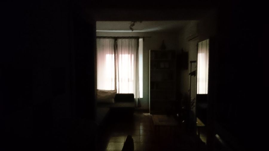 Leaving. Malaga SPAIN España Andalusia Andalucía Darkness Morning Light And Shadow Silhouette Silhouettes Room Leaving Departure Window Door