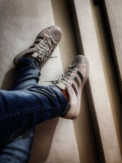 #photography S8Photography Samsungphotography Kids Being Kids #filters Adidasoriginals Adidas Adidas Stan Smith #JustMe Randomshot Photography Reigning Champ Brand Low Section Human Leg Sitting Standing Shoe Jeans Personal Perspective Close-up Casual Clothing Human Foot Rolled Up Pants Sole Of Foot Flat Shoe Sock Legs Crossed At Ankle Shoelace Footwear The Fashion Photographer - 2018 EyeEm Awards