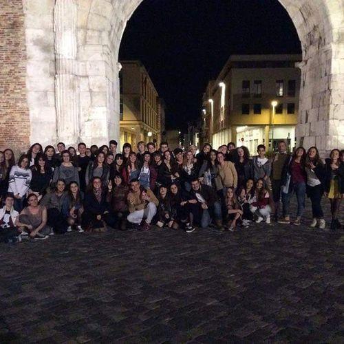 Rimini By  Night ♡ Una Classe Tanti Ricordi Tanti Guai .