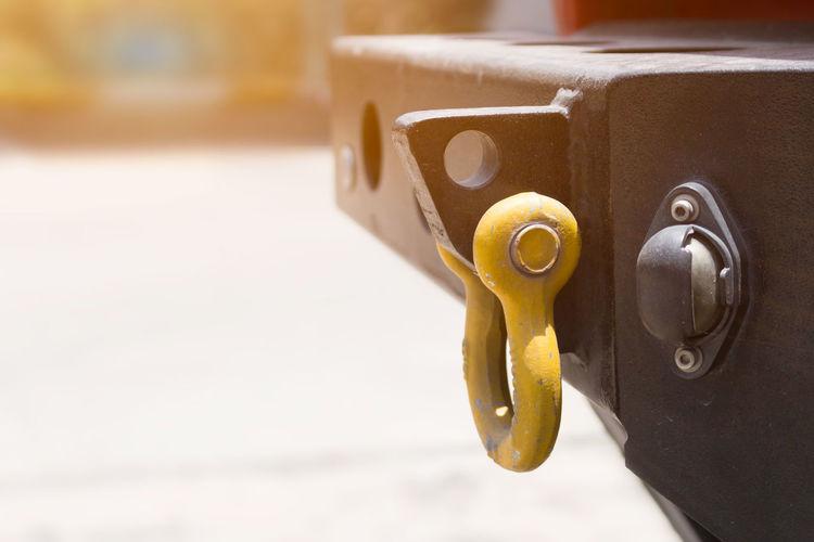 Towing Service Car Copy Space Garage Handle Lock Metal Trunk Vehicle