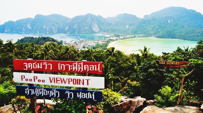 Koh Phi Phi Viewpoint? Travelling Thailand