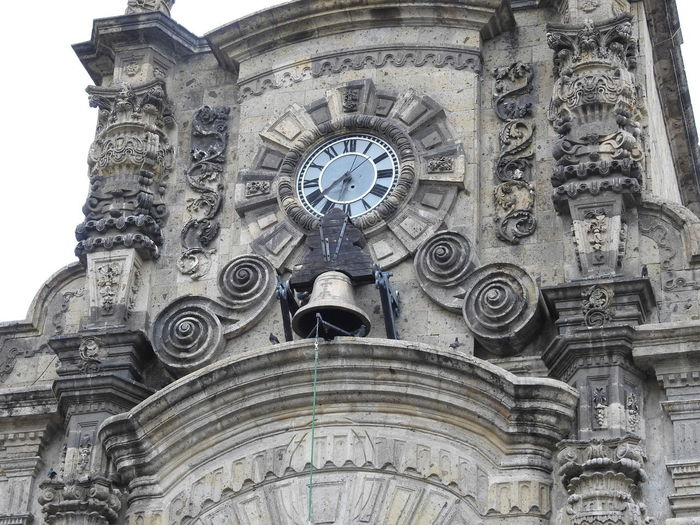 Bell Architecture Building Exterior Built Structure Clock Day History Low Angle View No People Ornate Outdoors Sculpture Sky Statue Time Travel Destinations