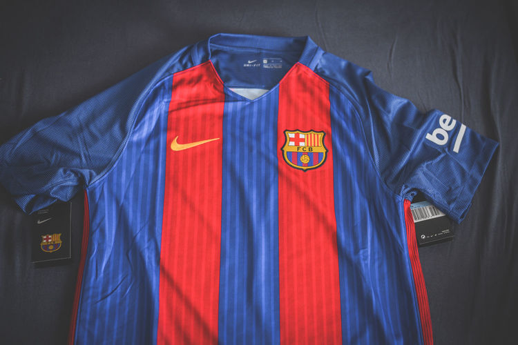 Barcelona Barça Catalonia Catalunya Coutinho Dembele FC Barcelona Football Jersey Lionel Messi Messi Shirtless Blue Close-up Clothing Indoors  No People Patriotism Product Photography Red And Blue Soccer Suarez Textile