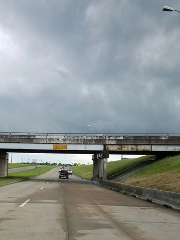 The Following Origional Photo Nofilter Only Cropped Brazoria County Texas Street Weather Texas Weather Half And Half Clear On The Other Side Following to clearer skys. Origional photo, no filter. I caught it at the perfect time, skys are clear under the bridge, but thick and dark clouds above. Clean Line