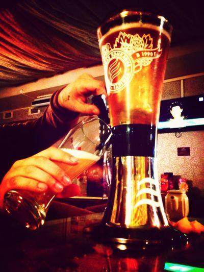 Beer Meeting Friends Having Fun After Work