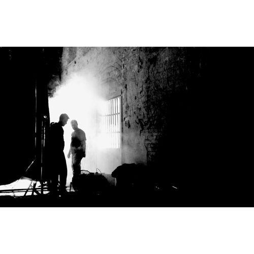 B&w Street Photography Crew Commercial Film Istanbul Blackandwhite Shooting Interfilmistanbul
