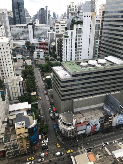 I Love Thailand.❤️ City Building Exterior Architecture Built Structure Street Transportation EyeEmNewHere Building High Angle View Mode Of Transportation Motor Vehicle Road Cityscape Land Vehicle Office Building Exterior City Street Residential District No People City Life Day Car #urbanana: The Urban Playground Summer In The City