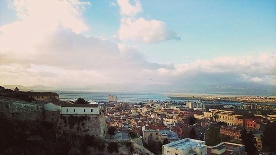 Ah, la Domenica Sunday Sunny Morning Cagliari Sardegna