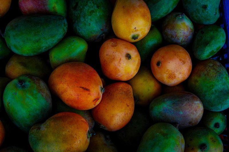 Mango Mango Food And Drink Food Healthy Eating Fruit Wellbeing Full Frame Freshness No People Multi Colored Day