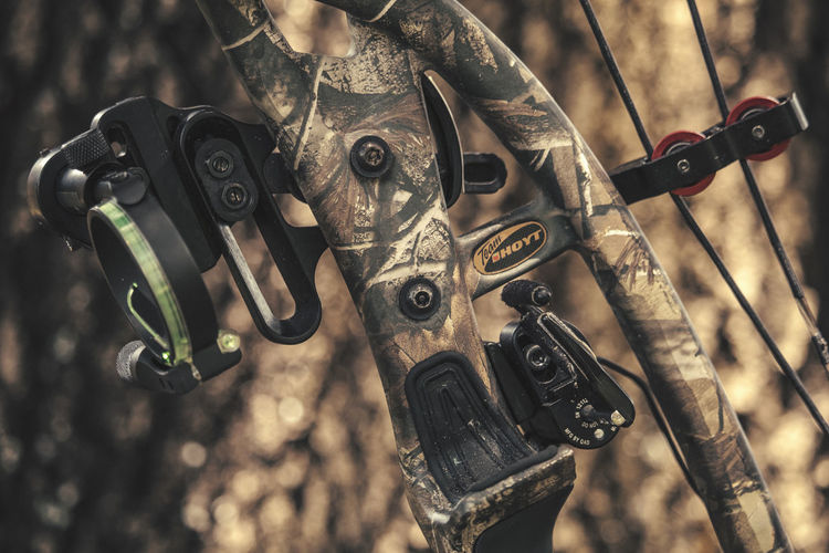 EyeEm Selects Metal No People Close-up Outdoors Day Archery Bow Compoundbow Hoyt Hunting