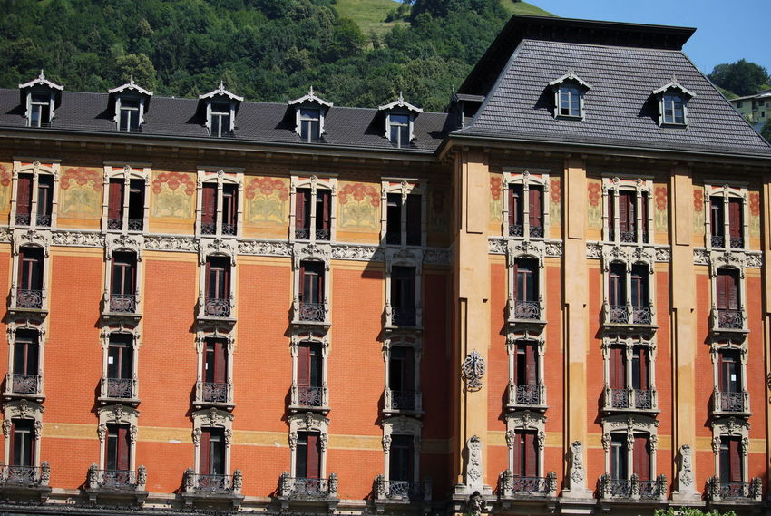 July 2017 San Pellegrino Terme Architecture Building Exterior Built Structure Day Façade House No People Outdoors Roof