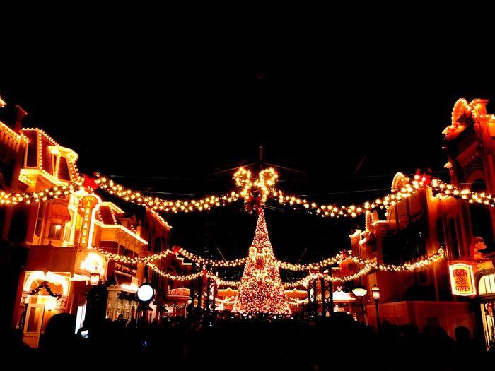 ディズニー ランド クリスマス