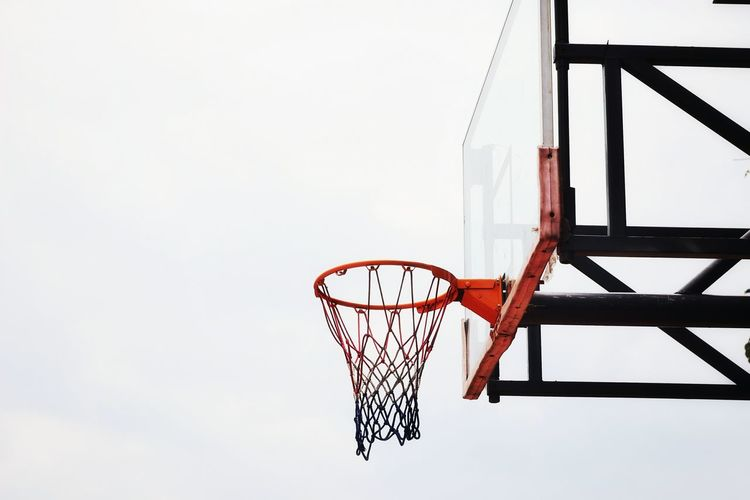 I love this game! Basketball - Sport Basketball Hoop Court Sport Hanging Net - Sports Equipment Sky Basketball Slam Dunk Taking A Shot - Sport Shooting At Goal