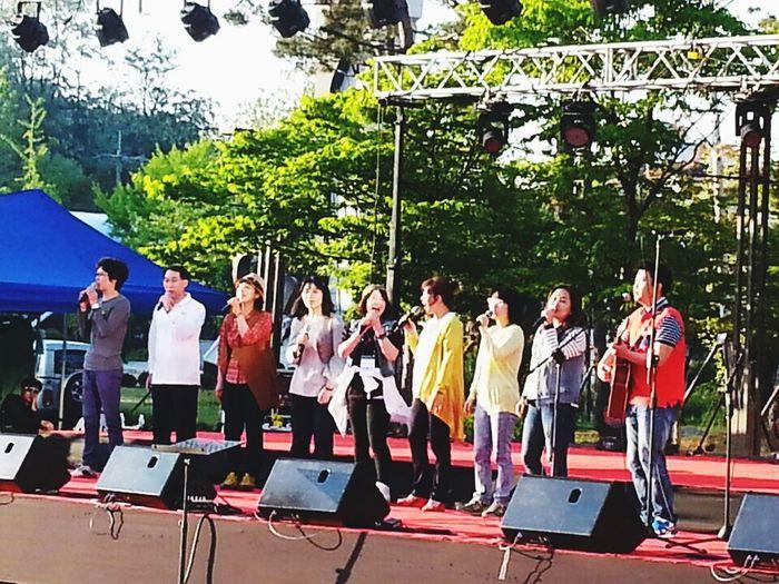 끼가뻔쩍 10th.... 민아리 Song Lyrics Enjoying Life Incheon Festival Folk Music Relaxing Happyday Everyday Joy Songs ArtInMyLife