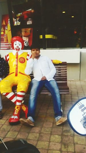 Enjoying at Mc donald ..... First Eyeem Photo