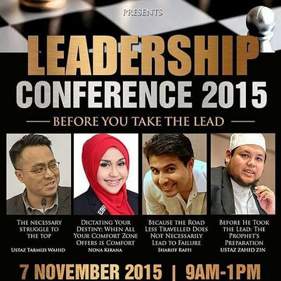 Before you are a leader, success is all about growing yourself. When you become a leader, success is all about growing others. —Jack Welch A marvelous conference by awesome speakers. Only by @safinahinstitute. This Saturday at Joyden Hall, 9am-1pm Go to http://safinah.sg/registration/ now to register.. 😁 😁 👍👍 Letsgo Mustgo Gojer Veryveryvery Leadershipconference2015 Safinahsg Beforeyoutakethelead
