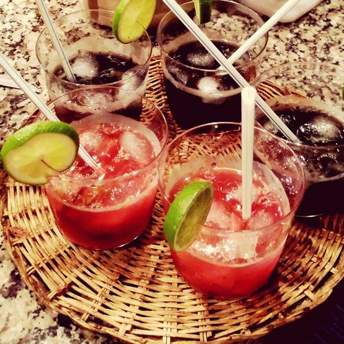 Caipiroska Cheers! Hanging Out With Friends
