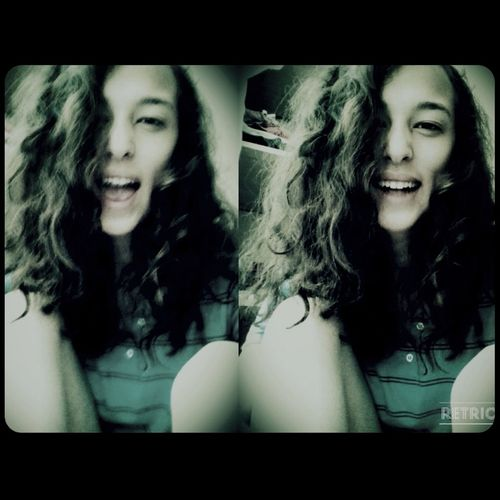 Curly Hair :) Laugh Today Selfie ✌