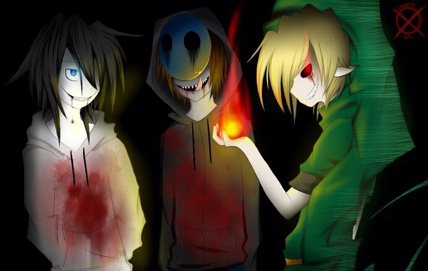 BenDrowed EyelessJack Jeff JeffTheKiller