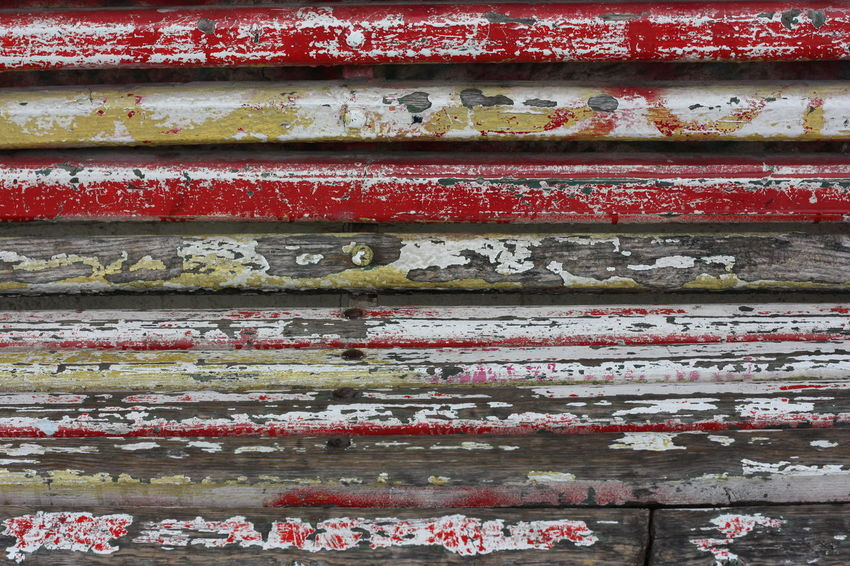 Backgrounds No People Full Frame Pattern Architecture Close-up Wall - Building Feature Weathered Day Wood - Material Built Structure Old Metal Paint Red Building Exterior Outdoors Shutter Multi Colored Wall Corrugated Iron