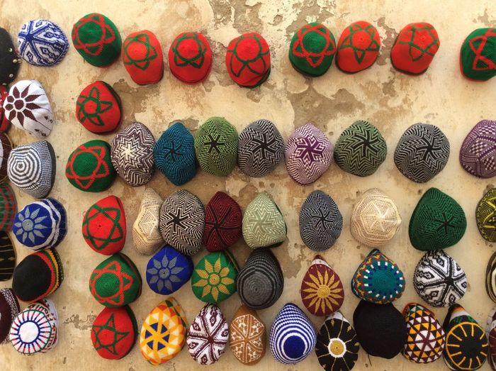 Essaouira Hats Medina Colors