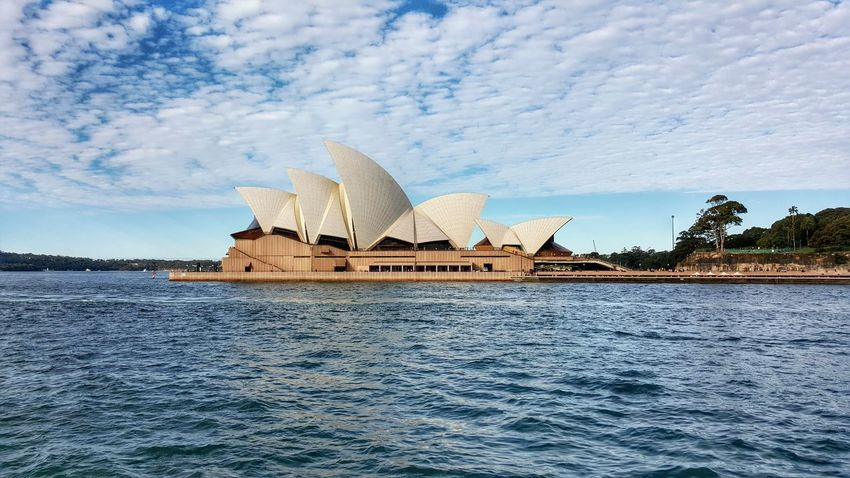 Operahouse Architecture Water Ferry Galaxys6