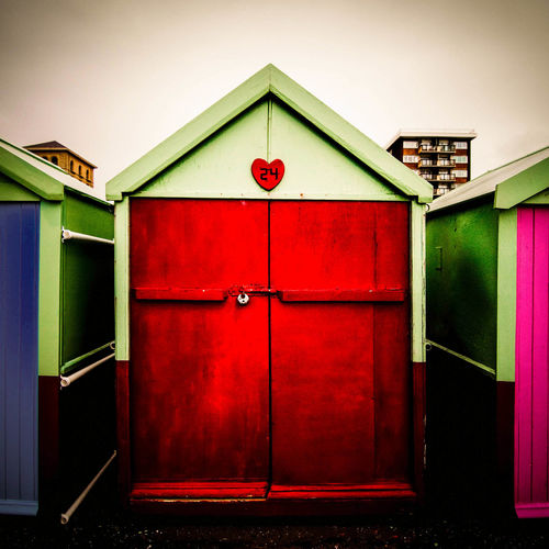 Beach Hut Beach Hut With Red Doors Beach Hut Number 24 Commercial Photography English Beach Hut No 24 Paula Puncher Red Door Traditional English Beach Hut