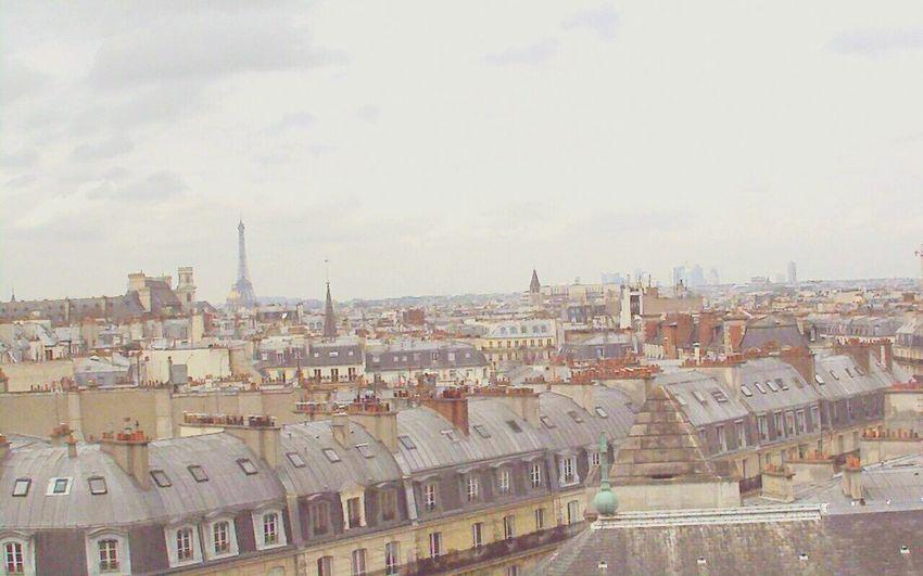 Paris ❤ Cityscape Architecture Urban Skyline City Mj B1trider Tranquility