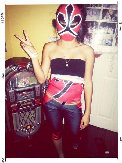 The Red Power Ranger..el Rojo