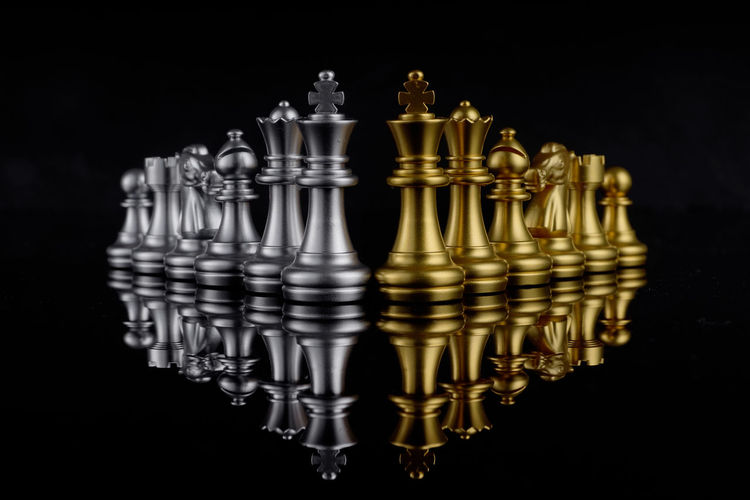 Set of chess on