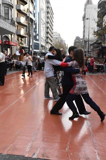 Tango en la