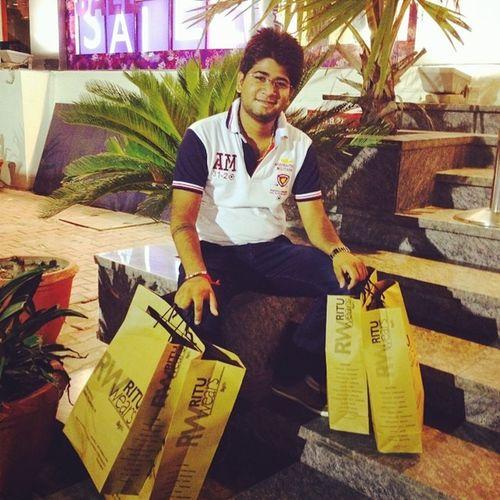 Me Doing Shopping For Colg Masti M2K Rituwear Titaneye Picoftheday Instapic Lovingit 2daysmore