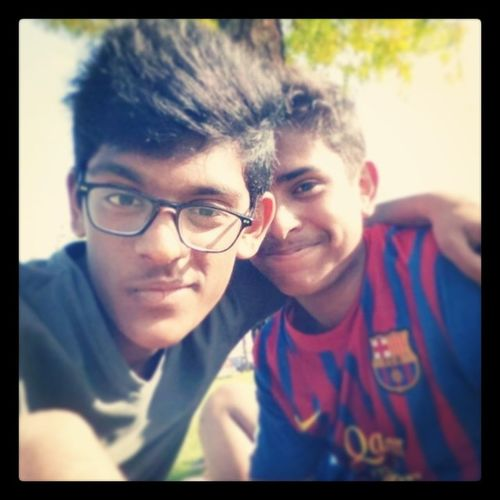 With my muth. :* Zabeel LoveBarca Authentic .:*