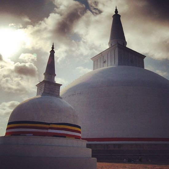 Ruwanweli Maha Stupa Premises at Anuradhapura