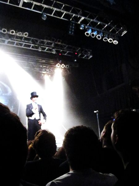 The Hives Concert Shadows Sillouettes Crowd Night Music Top Hat Tuxedo Entertainment Soundtrack Of Our Lives