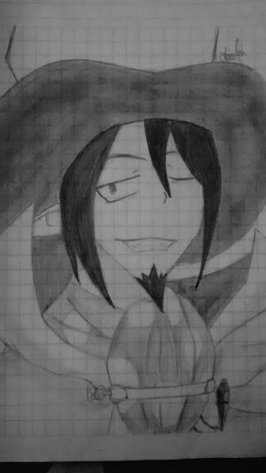 Hi! Hello World Drawing ✏ Anime Lol :) Drawing Drawings Mephisto Ao No Exorcist Goodmorning