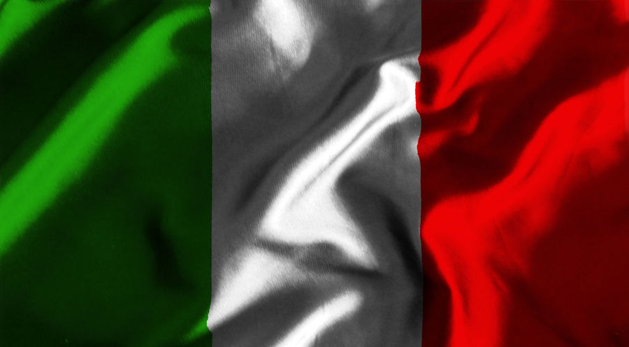 Italian flag Backgrounds Close-up Crumpled Day Fabric Flag Full Frame Indoors  Italy Italy Flag Nation No People Red Rome Rome Italy State Textile