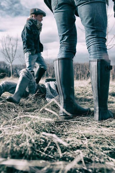 Outdoors Rubber Boots Children Photography Fashion Photography Rubber Boot